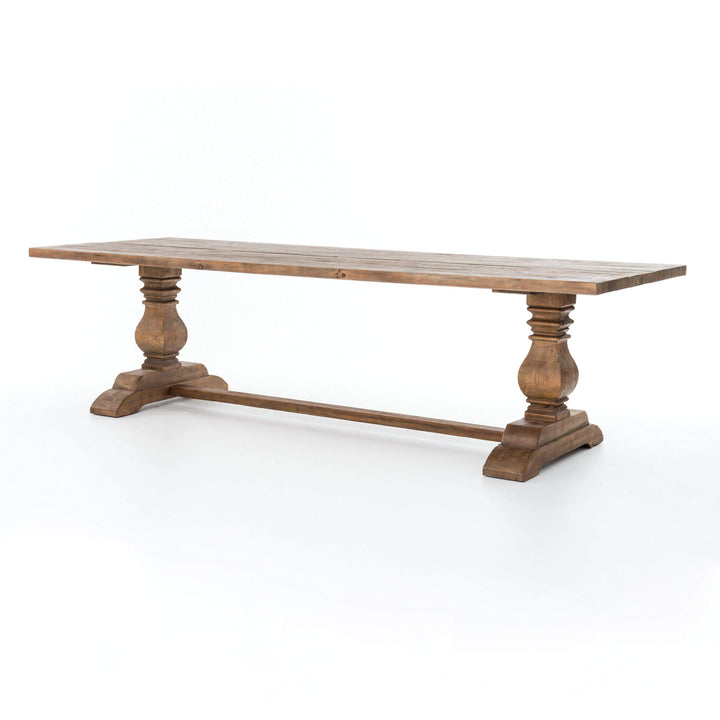 "DURHAM DINING TABLE (87"" or 110""): Hughes Collection - Parker Gwen"