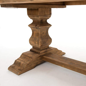 "Castle 98"" Dining Table (Bleached Pine) - Hughes Collection - Parker Gwen"