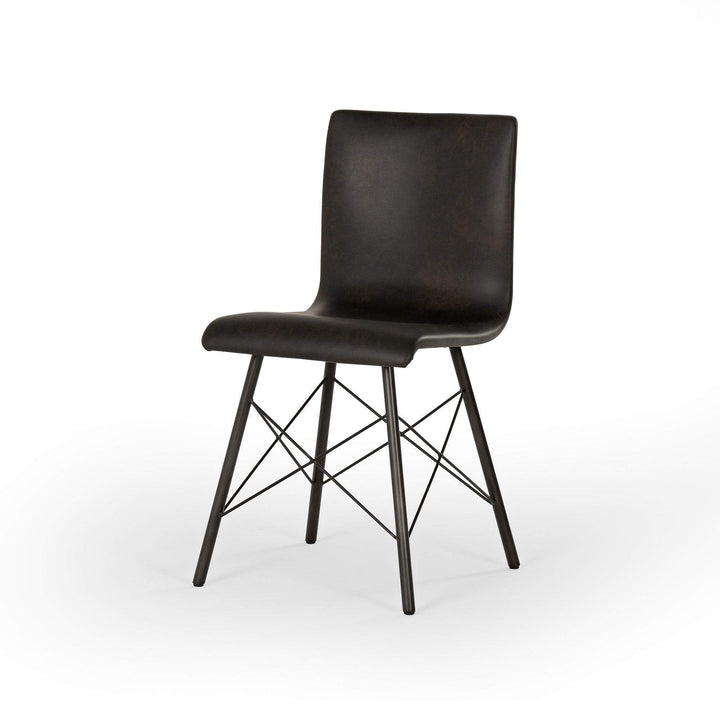 "Diaw 33"" Dining Chair (Distressed Black) - Parker Gwen"