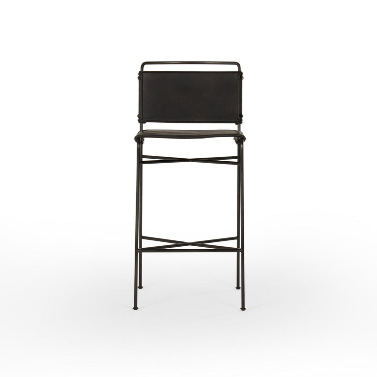 "Wharton 44"" Bar Stool (Distressed Back) 