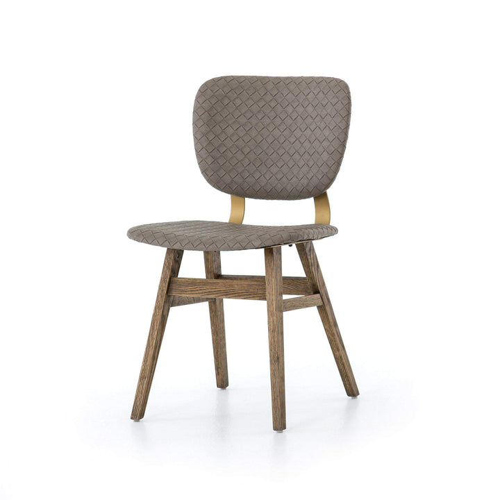 SLOAN DINING CHAIR (EMBOSSED GREY) - Irondale Collection - Parker Gwen