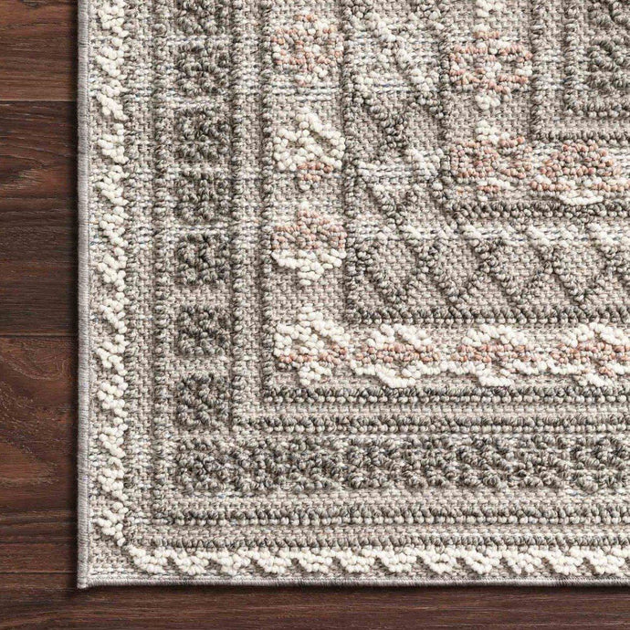 Loloi Cole Collection Indoor/Outdoor Rugs - Multiple Sizes (Grey/Multi)