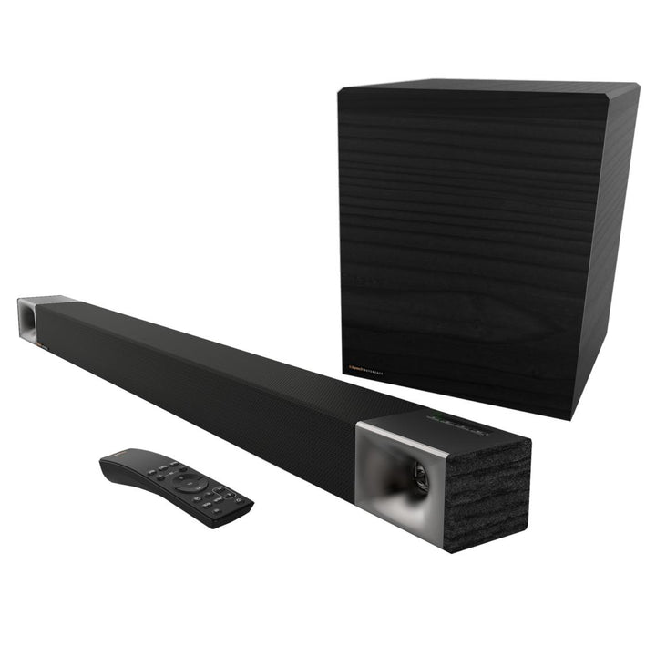KLIPSCH CINEMA 600 SOUND BAR WITH WIRELESS SUBWOOFER | Soundbar | parker-gwen.