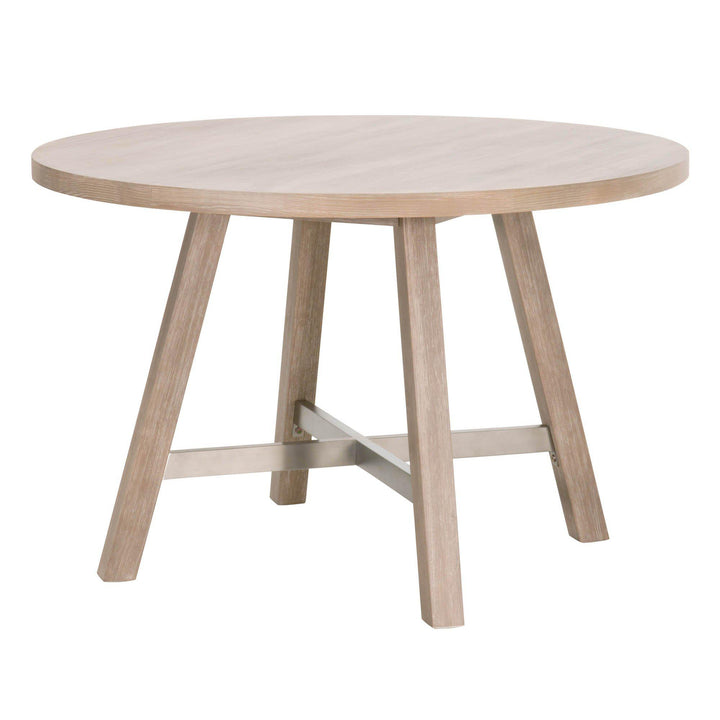 "Cross 47"" Round Acacia Dining Table 