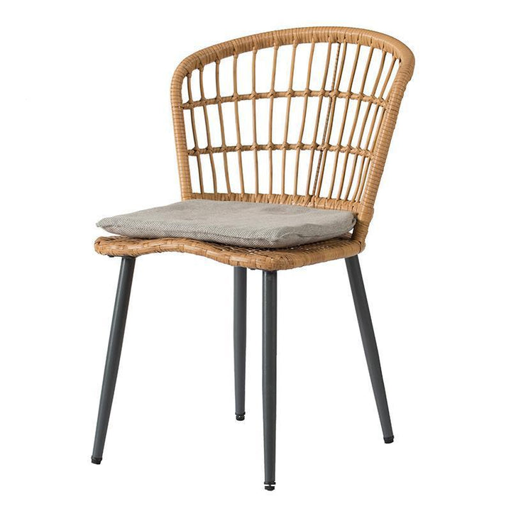 Tatiana Wicker Dining Chair | Outdoor Dining | parker-gwen
