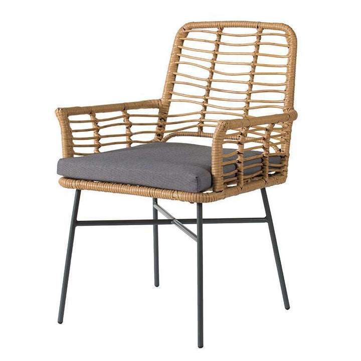 Tatiana Wicker Dining Arm Chair | Outdoor Dining | parker-gwen