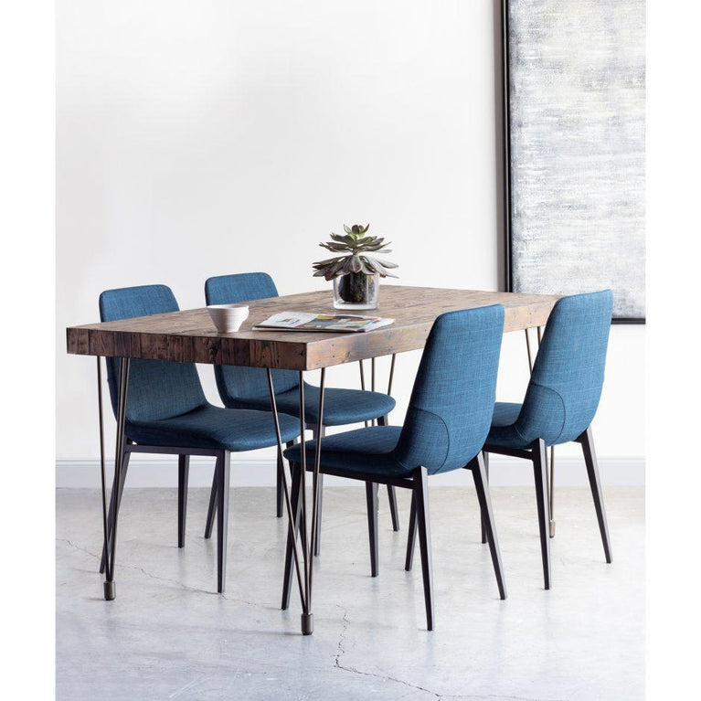 Kito Dining Chair (Blue) - Set of 2