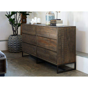 Elena 6 drawer Wood Dresser - Parker Gwen