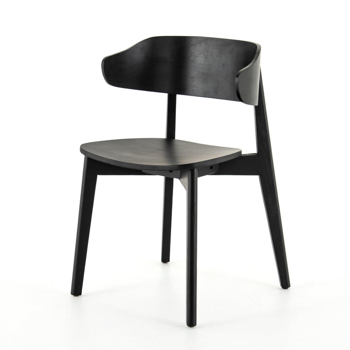 Franco Wing-Back Dining Chair (Black)