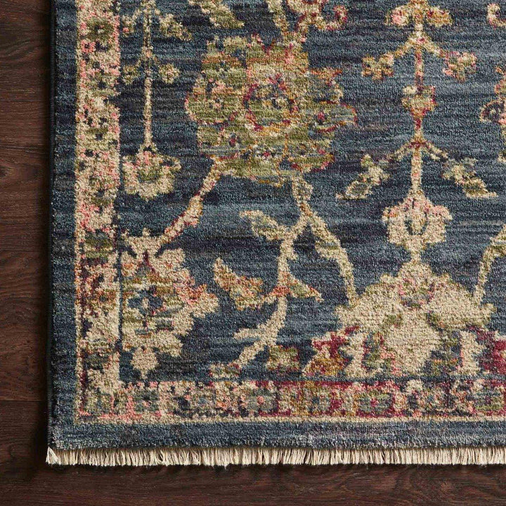 Giada Rug Collection: Multiple Sizes & Shapes - (Navy/Multi)