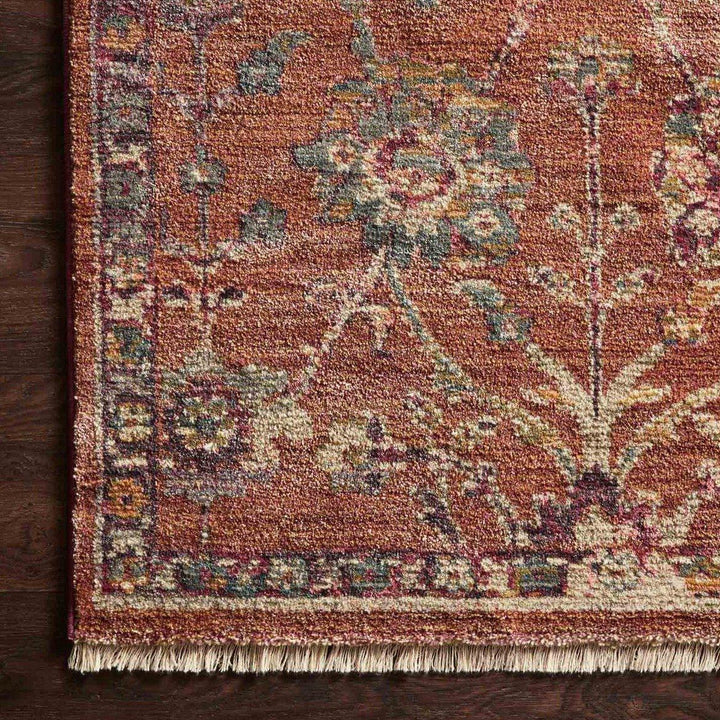 Giada Rug Collection: Multiple Sizes & Shapes - (Terracotta/Multi)