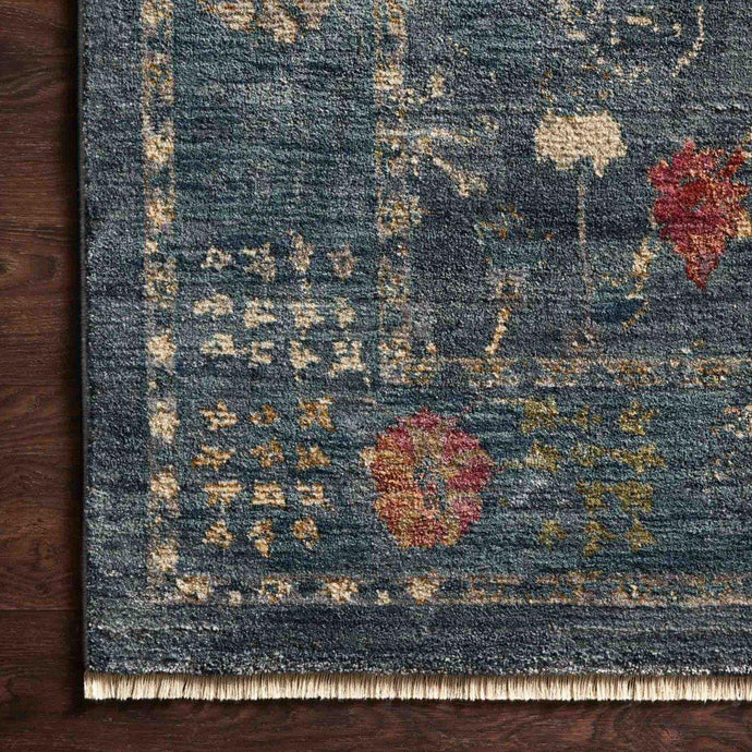 Giada Rug Collection: Multiple Sizes & Shapes - (Denim/Multi)