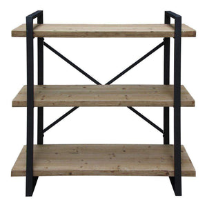 LEX 3 LEVEL SHELF NATURAL - Parker Gwen