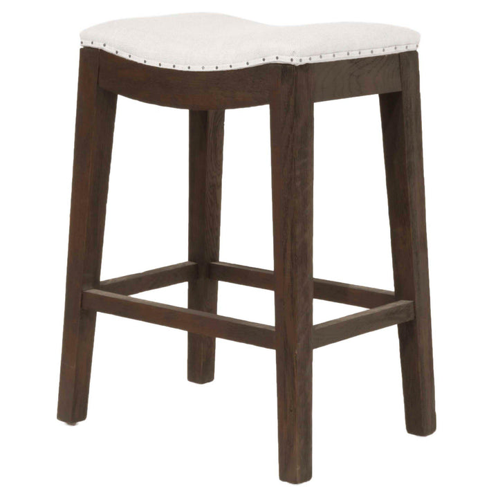 Harper Counter & Bar Stool (Java Ash, Bisque)