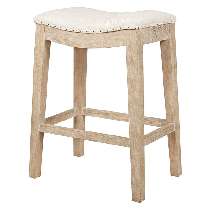 Harper Counter & Bar Stool (Stone Wash, Bisque)