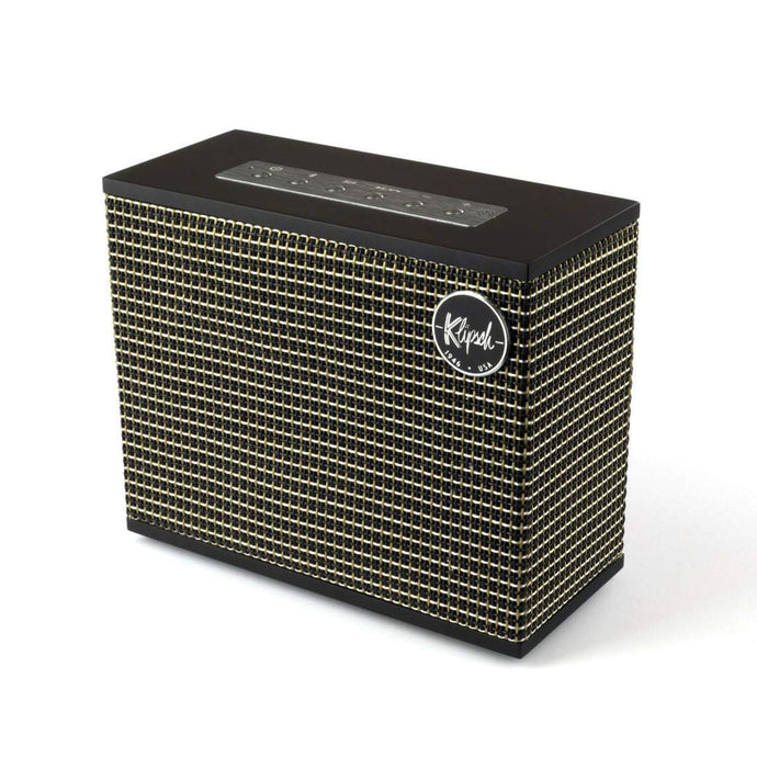 Klipsch Heritage Groove Wireless Speaker (Matte Black) - Parker Gwen