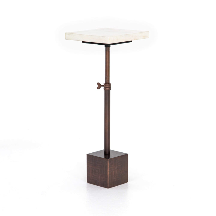 "Sirius 20"" Adjustable Accent Table (Bronze) - Parker Gwen"