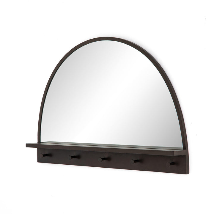 "Wellington 45"" Entry Mirror (Dark Relic Brass) 