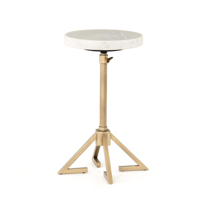 "Alana 20"" Adjustable Accent Table (Antique Brass) - Parker Gwen"