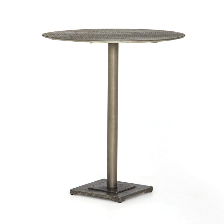 "Fannin Element Bar or Counter 32"" Table (Antique Nickel) - Parker Gwen"
