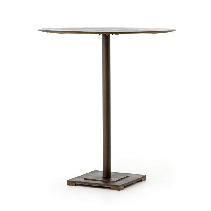 "Fannin Element Bar or Counter 32"" Table (Aged Brass) - Parker Gwen"