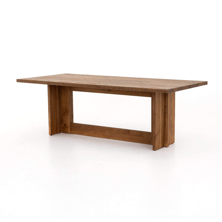 "Erie 89"" Oak Dining Table - Fallon Collection - Parker Gwen"