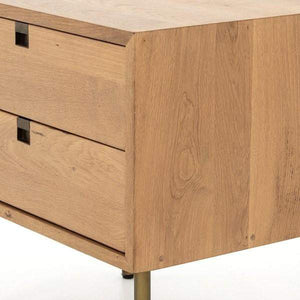 Carlisle Danish Natural Oak Nightstand