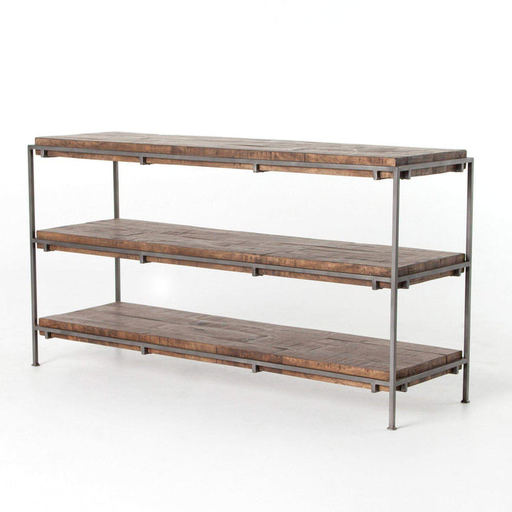 "Simien 60"" Three Shelf Console Table - Harmon Collection - Parker Gwen"