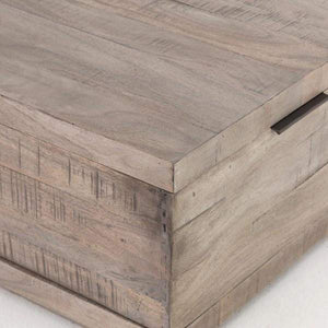 "Dillon Weathered 52"" Coffee Table - Harmon Collection - Parker Gwen"