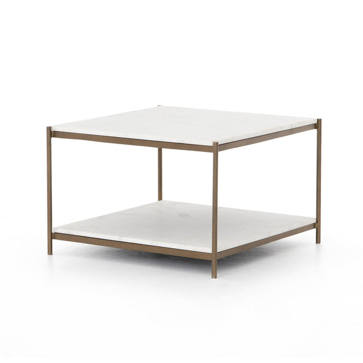 "Felix 25"" Bunching Table (Antique Brass)"