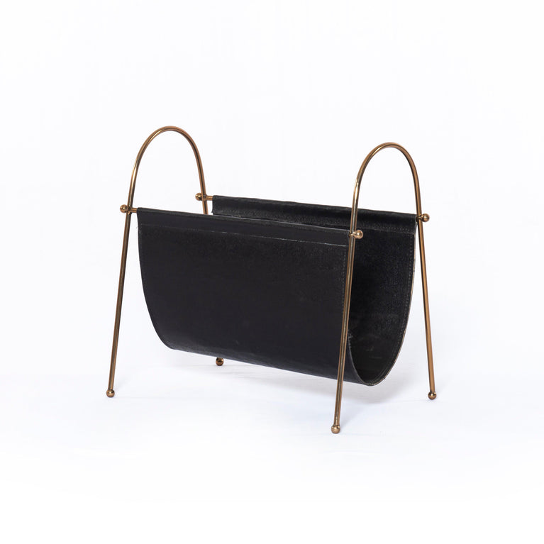 Tehsin Black Magazine Rack