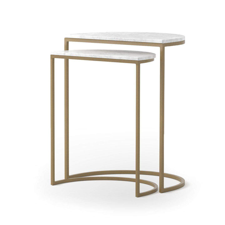 Ane Marble Nesting Tables - Marlow Collection - Parker Gwen