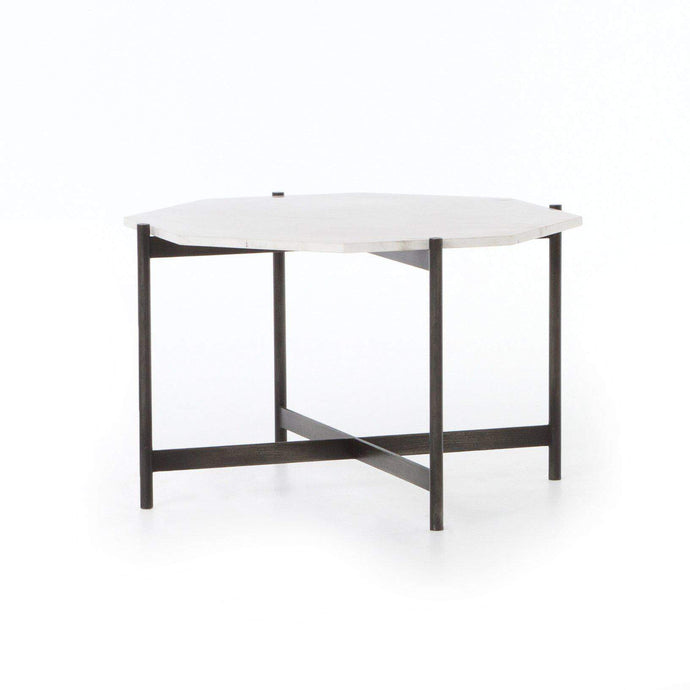 ADAIR BUNCHING TABLE (HAMMERED GREY) - Marlow Collection - Parker Gwen
