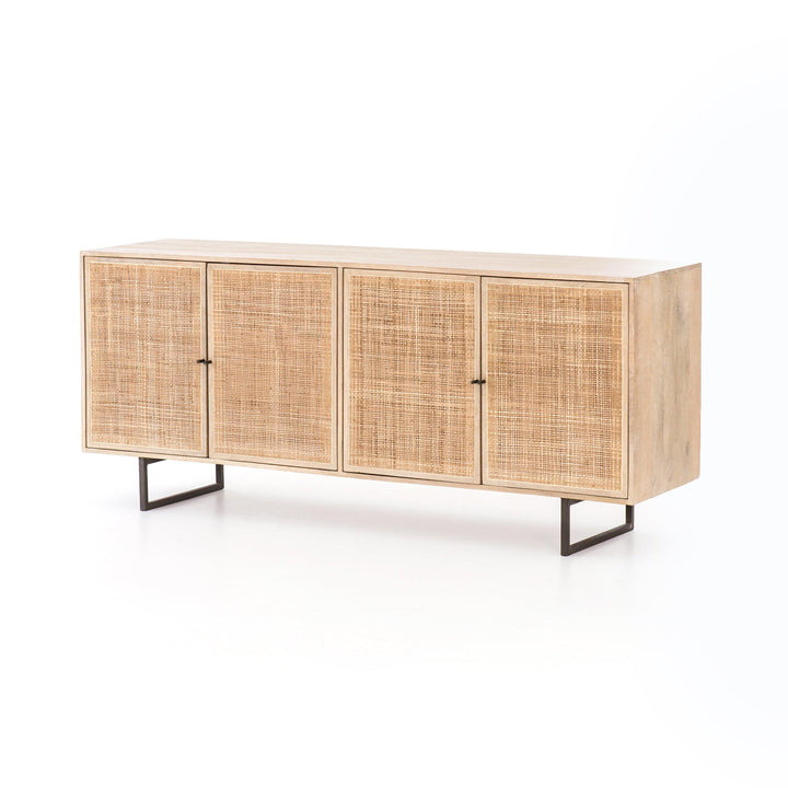 "Carmel 72"" Cane Wood Sideboard (Natural)"