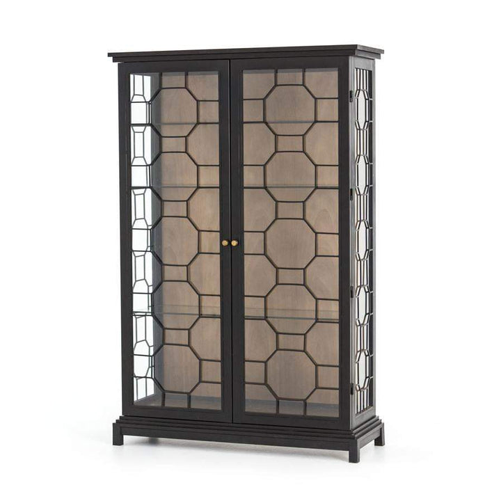 "Amma 72"" Black Cabinet - Rockwell Collection - Parker Gwen"