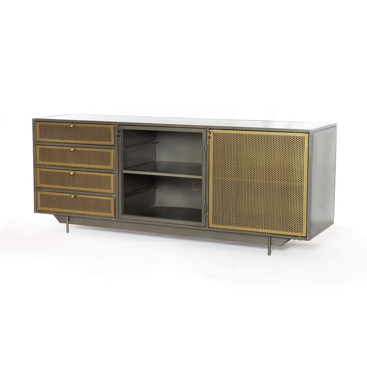 "Hendrick 63"" Media Console - Rockwell Collection - Parker Gwen"