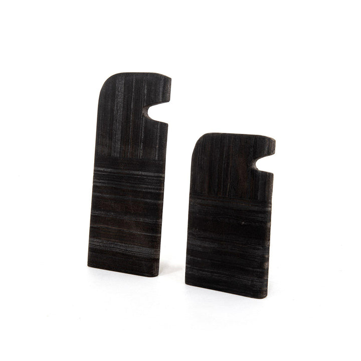 "Tab 6"" Stone Sculptures (Set of 2) 