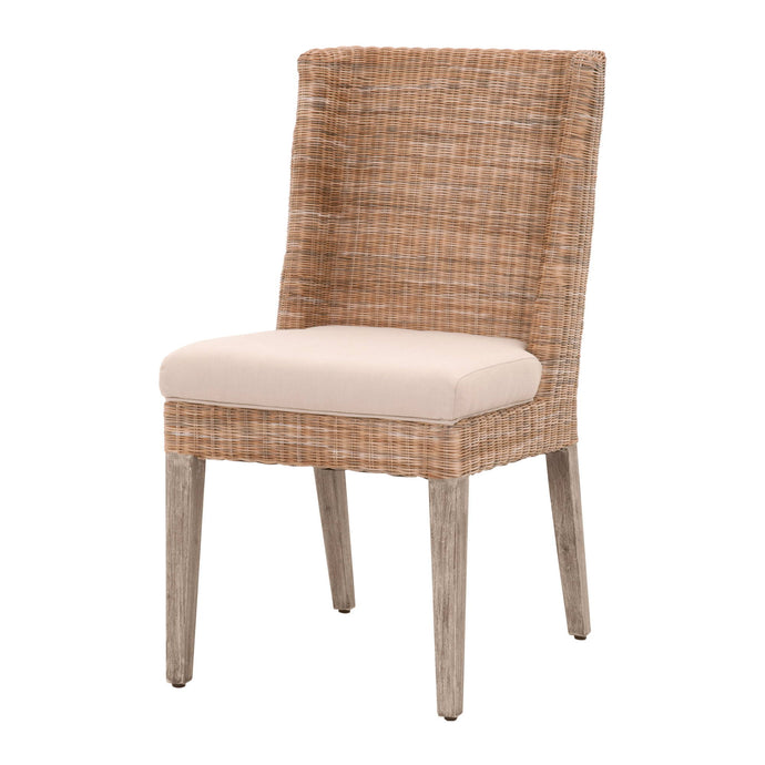 Isle Wicker Woven Dining Chair- Set of 2 | Dining Chair | parker-gwen