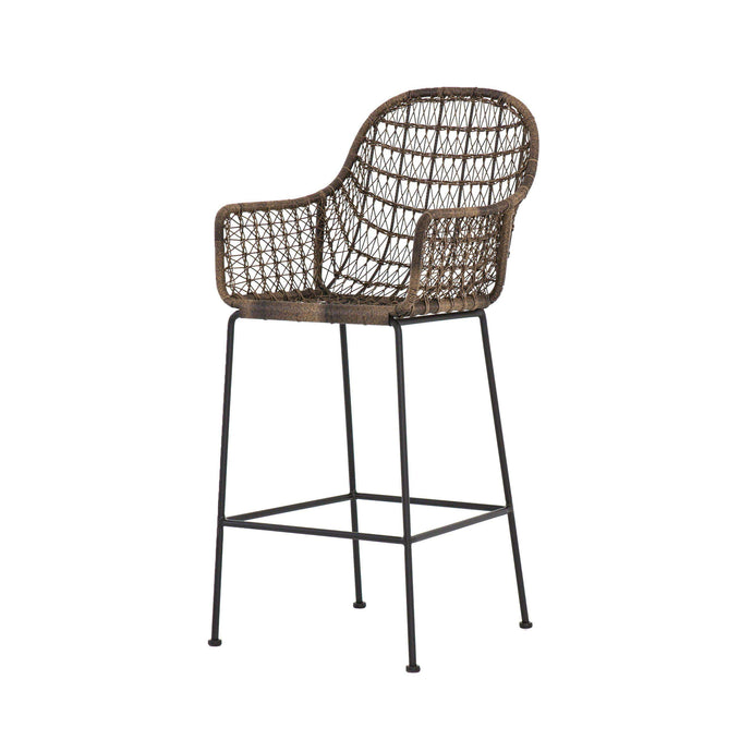 Bandera Wicker Bar & Counter Stool - Parker Gwen