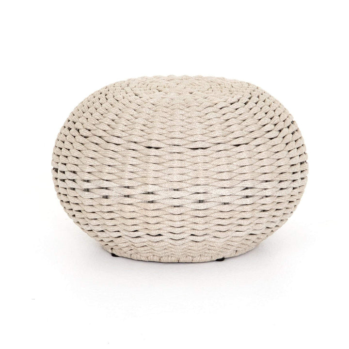 "Phoenix 21"" Outdoor Stool (Natural Rope) - Parker Gwen"