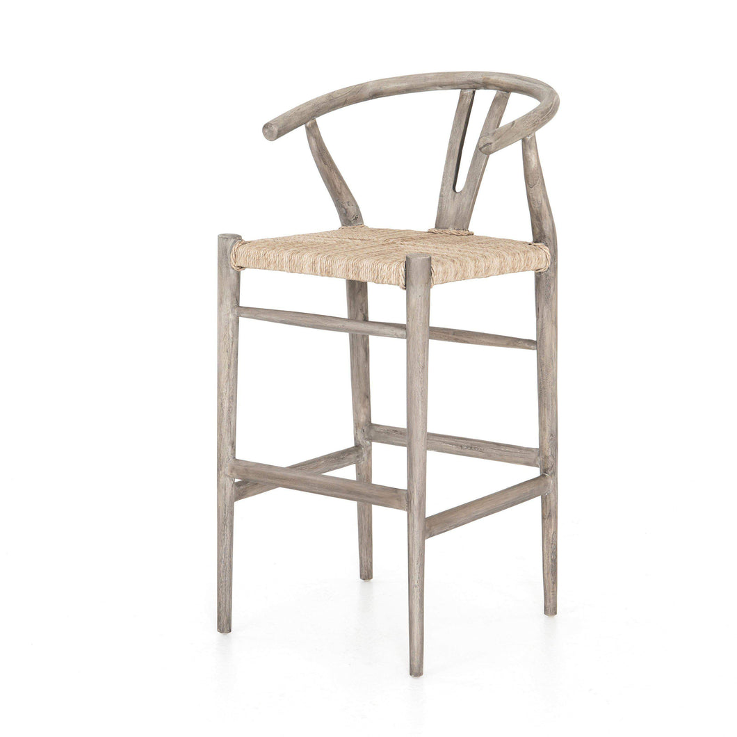 Muestra Bar & Counter Stool (Weathered Grey) - Parker Gwen