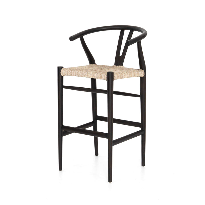 Muestra Bar & Counter Stool (Black Teak) - Parker Gwen