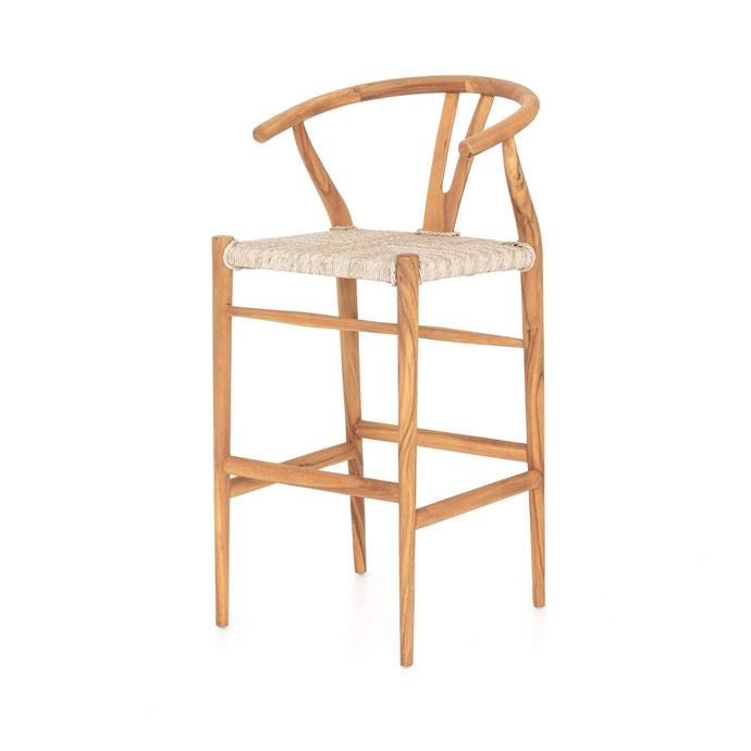 Muestra Bar & Counter Stool (Matte Teak)