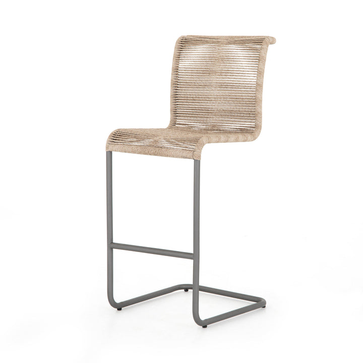 Grover Bar or Counter Wicker Stool | Stool | parker-gwen