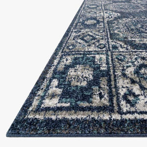 Joaquin Rug Collection: Multiple Sizes & Shapes - (Denim/Grey)