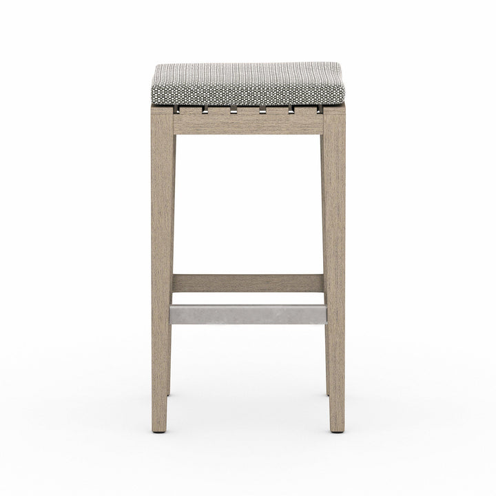 "Dale 30"" Outdoor Bar Stool (Washed Brown)"