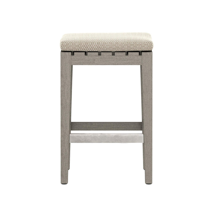 "Dale 26"" Outdoor Counter Stool (Weathered Grey)"