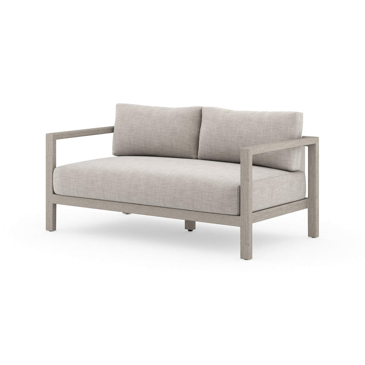 "Sonoma 60"" Outdoor Sofa (Weathered Grey/Stone Grey) - Parker Gwen"