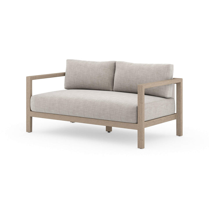 "Sonoma 60"" Outdoor Sofa (Washed Brown/Stone Grey)"