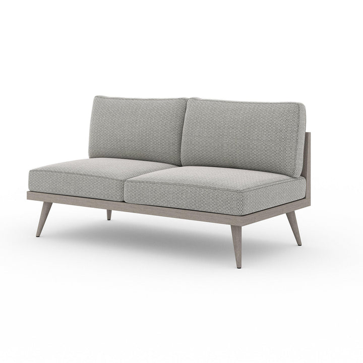 "Tilly 60"" Outdoor Sofa (Weathered Grey & Ash) 